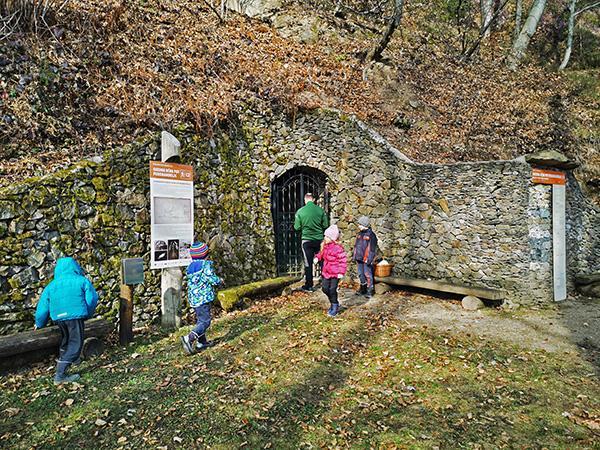 Vhod v Polhovo jamo