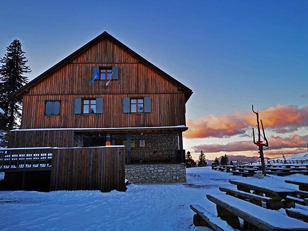 Dom na Menini planini