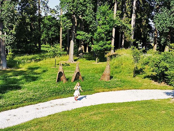 Botanični vrt Univerze v Mariboru, igrala