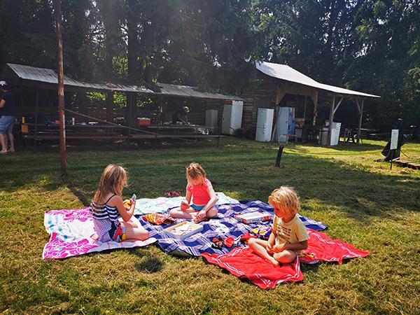 Klunove toplice, piknik prostor