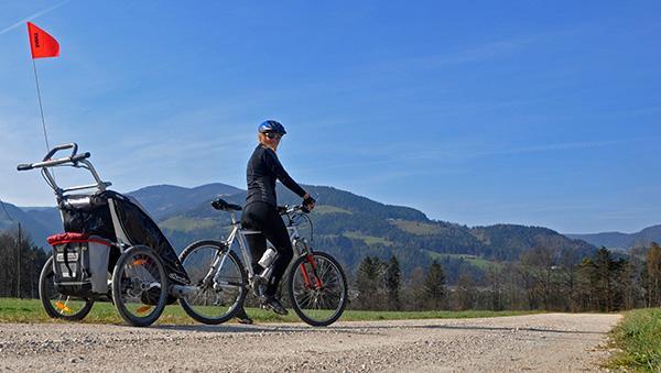 S kolesom na Dravčah