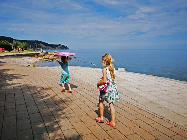 Sprehod ob obali, Izola