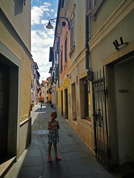Staro mestno jedro, Izola