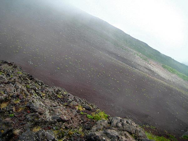 Pobočje gore Fuji
