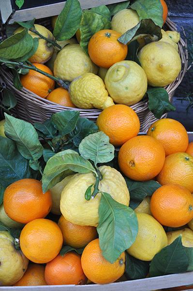 Cinque Terre ima mnogo nasadov citrusov