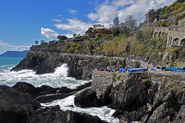 Sprehajalna pot ob obali, Cinque Terre
