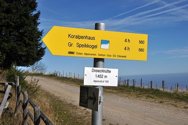 Oznake za Dreieckkogel