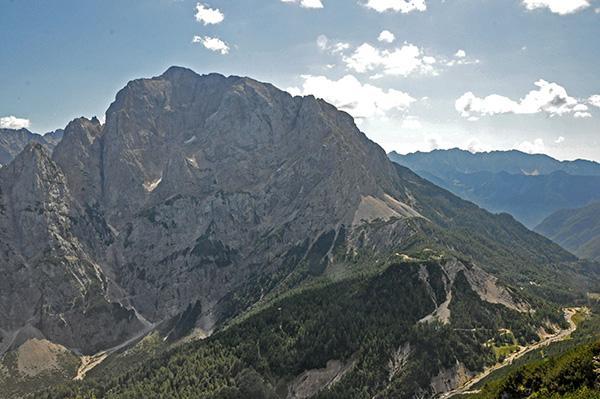 Razgled z vrha Prednjega Robičja