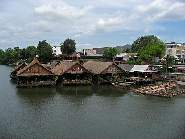 Hiše na vodi, Tajska