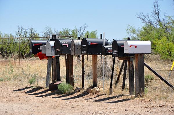 Poštni nabiralniki, Arizona