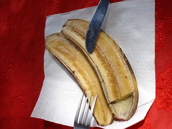 Sladica, pečena banana