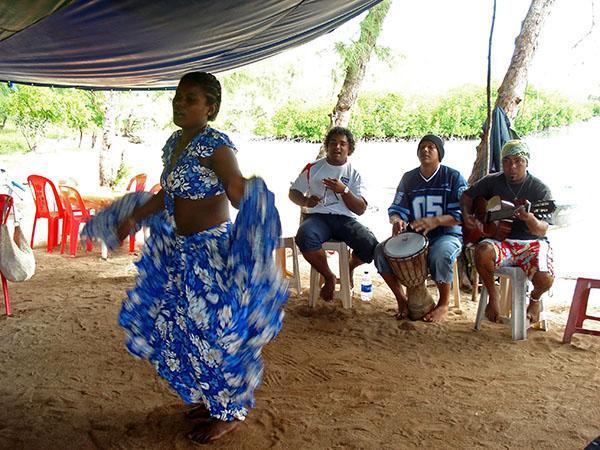 Tradicionalni ples sega, Mauritius