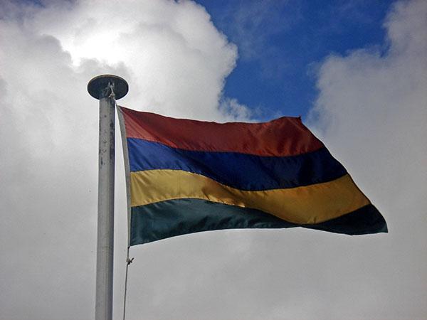 Zastava Mauritiusa