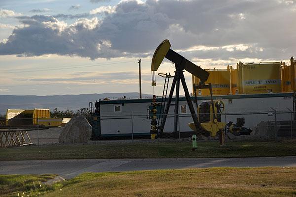 Alberta, črpanje nafte