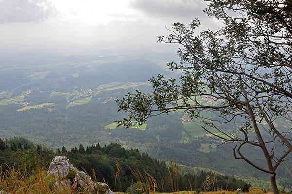 Razgled s Kriške gore