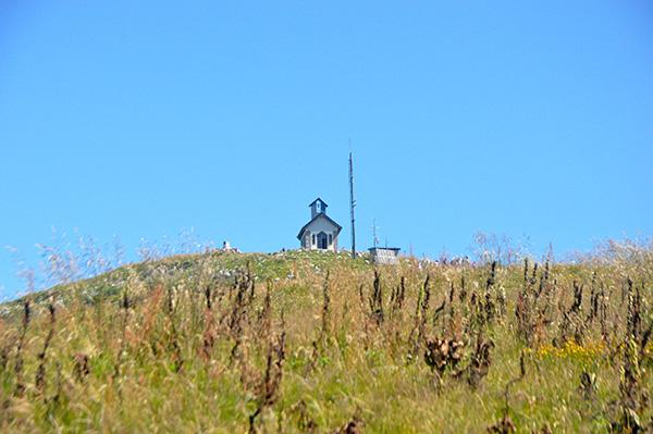Pogled proti vrhu Matajurja
