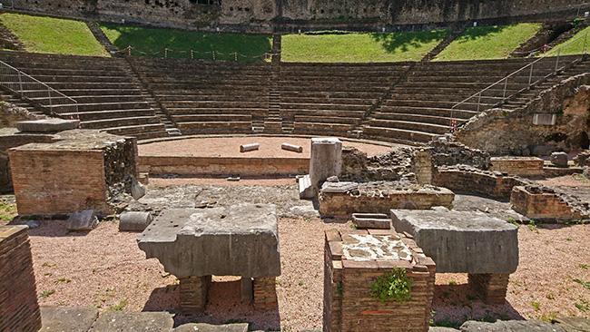Rimski teater, Trst