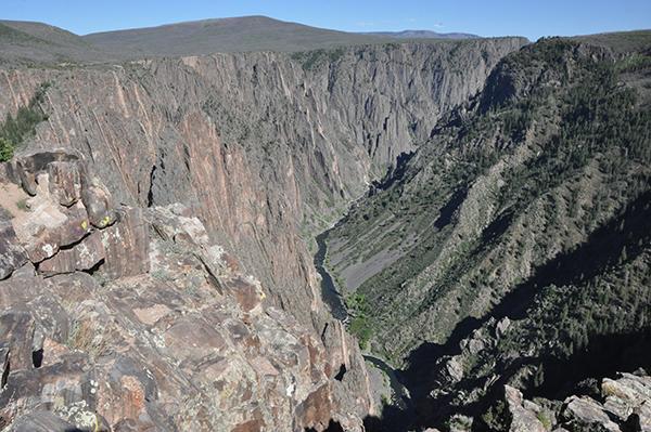 Črni kanjon, Kolorado