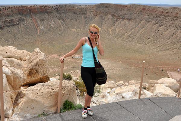 Krater, Arizona