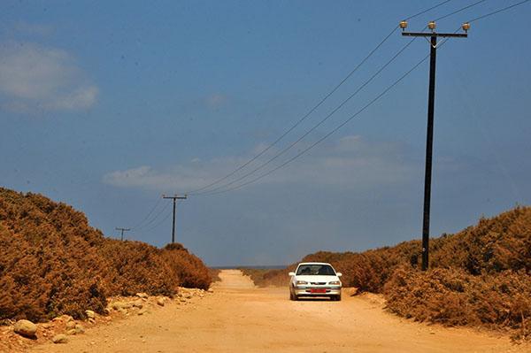 Ceste na skrajnem severnem delu Cipra