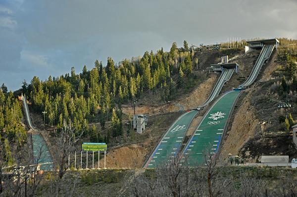 Okolica Salt Lake City, kjer so bile olimpijske igre