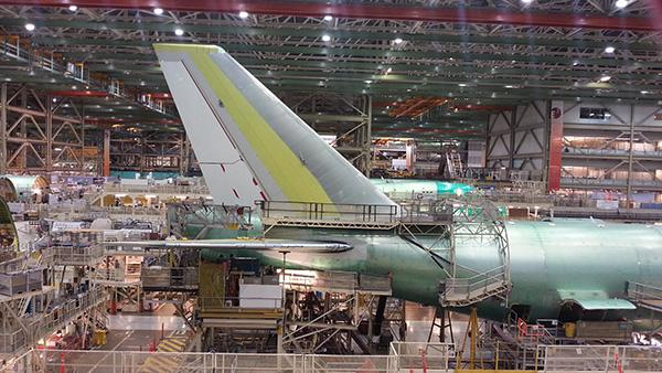 Boeing tovarna, Washington