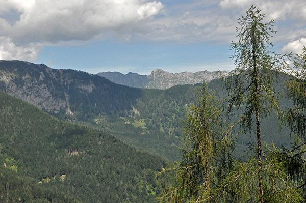 Razgled s Kozjega vrha