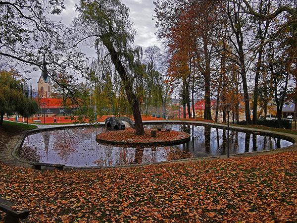 Ribnik v centru Slovenskih Konjic