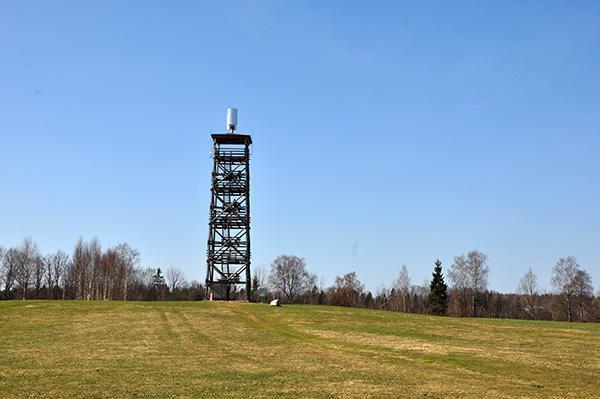 Razgledni stolp, Latvija