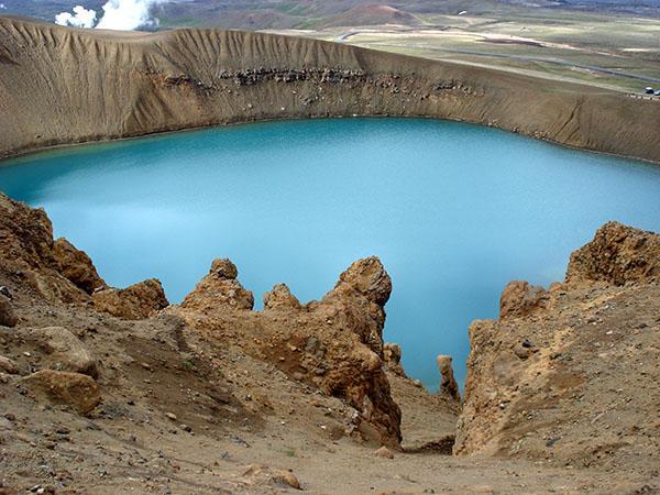 Krater, Islandija
