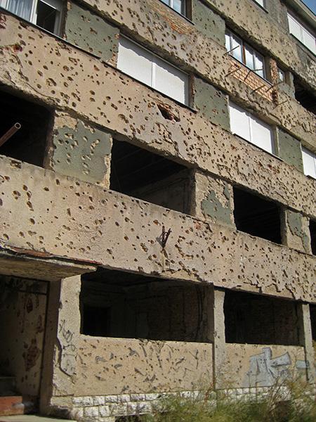 Sarajevo, ostanki od vojne