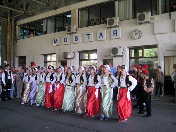 Mostar, folklora