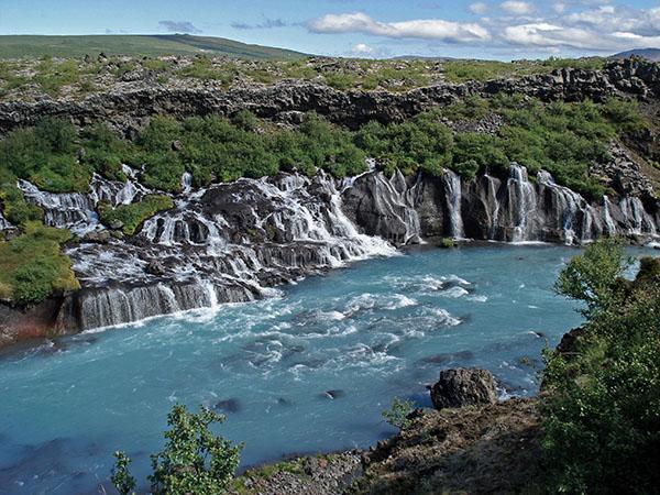 Lava Falls HRAUNFOSSAR