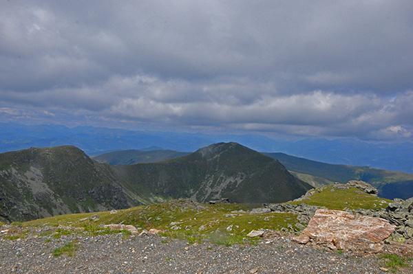 Razgled z vrha Scharfes Eck