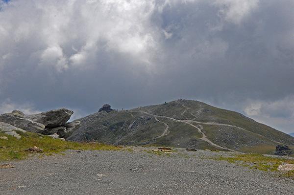 Pogled proti Zirbitzkoglu
