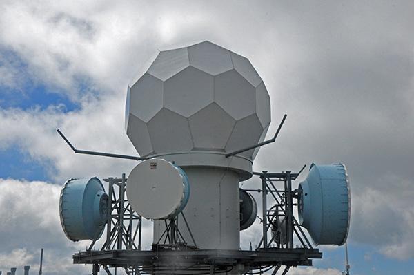 Scharfes Eck, meteorološka postaja