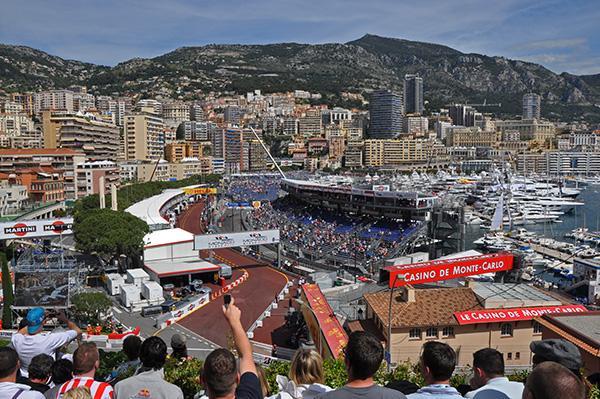 Formula 1 v Monaku