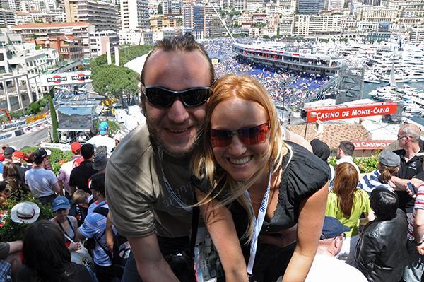 Na Formuli 1 v Monaku