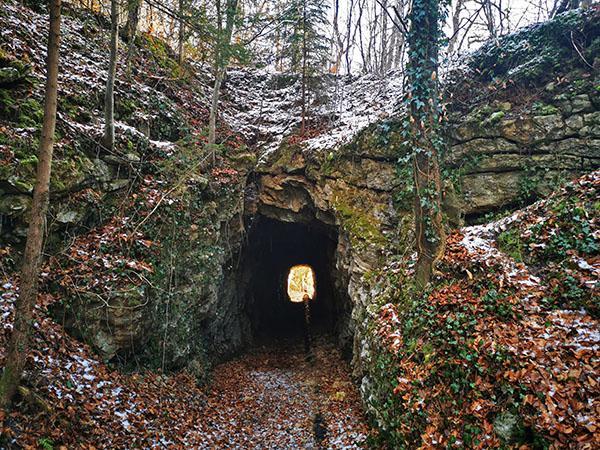 Tunel za ozkotirno železnico