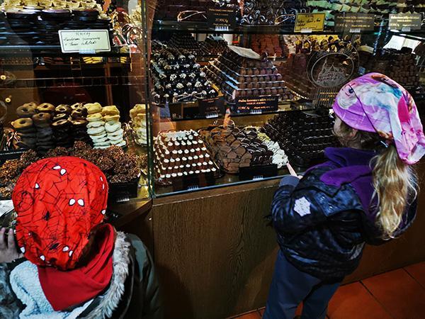 Čokoladnica v Olimju