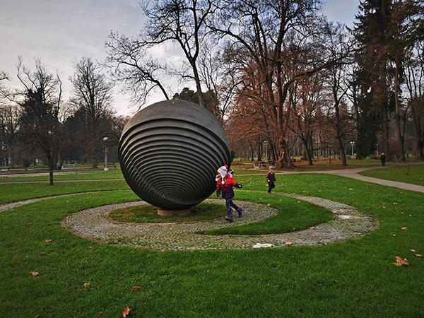 Forma viva, Mestni park Maribor