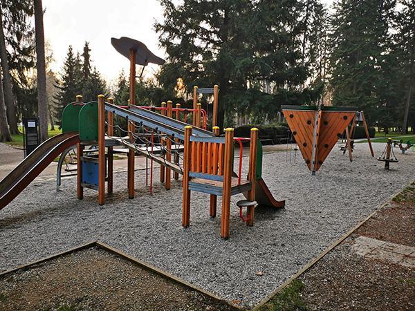 Igrala v Mestnem parku Maribor