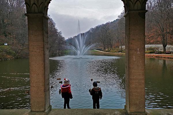Trije ribniki
