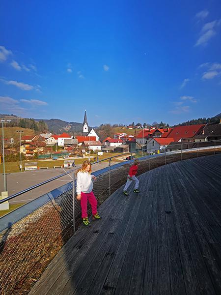 Na strehi Centra Noordung
