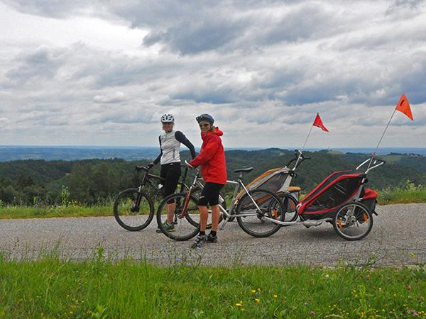 S kolesom na Tojzlov vrh
