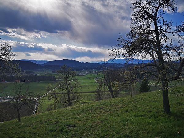 Razgled od graščine Schwarcenstein