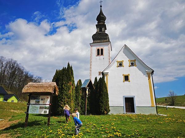 Izhodišče, cerkev sv. Ilija