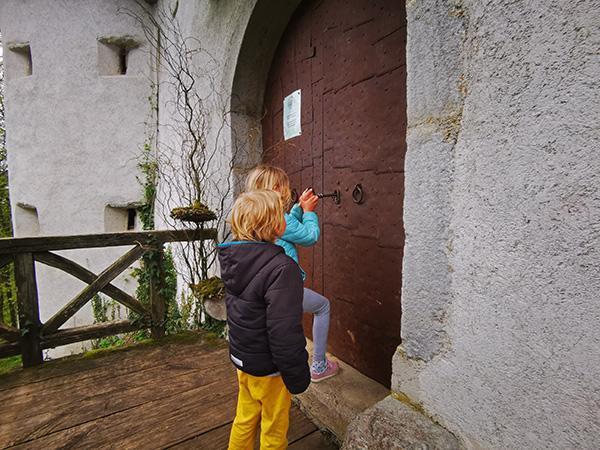 Odklepanje vhodnih vrat