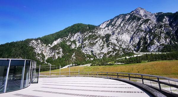 Planica, pogled z razgledne ploščadi