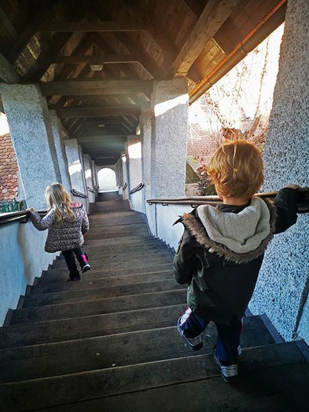 Stopnice v kapucinskem samostanu